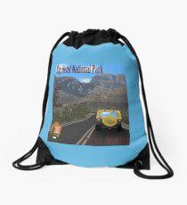 big bend national park Drawstring Bag