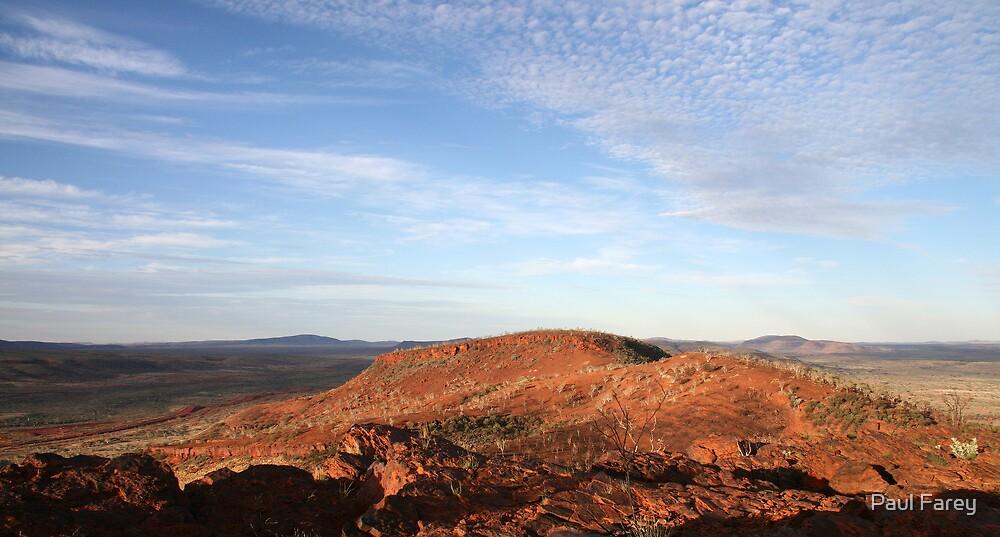 pilbara topography by Paul Farey