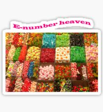 E Number Heaven Sticker