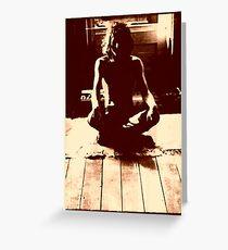 Syd Barrett Greeting Card