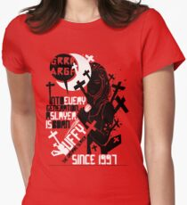 Slayer (2) Womens Fitted T-Shirt