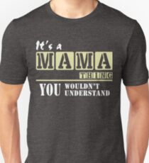 Mama Thing, Mother's day Tee T-Shirts Unisex T-Shirt