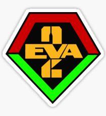 Evangelion Unit 2 Logo Sticker