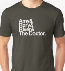 Amy & Rory & River & The Doctor. T-Shirt