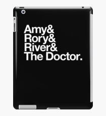 Amy & Rory & River & The Doctor. iPad Case/Skin