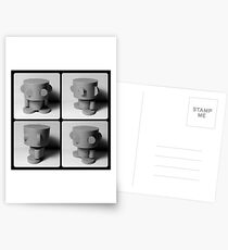 O'BOT Collectible Toy Postcards