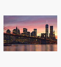 NEW YORK CITY 34 Photographic Print