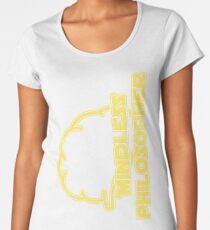 Mindless Philosopher (Grunge) Women's Premium T-Shirt