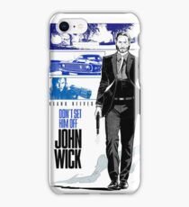 John Wick Keanu Reeves iPhone Case/Skin
