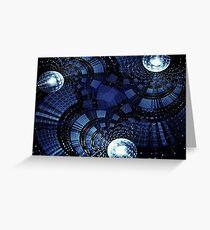 Sci- Fi  Matrix  Greeting Card