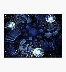 Sci- Fi  Matrix  Photographic Print