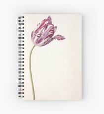 Antique Tulip Painting Spiral Notebook