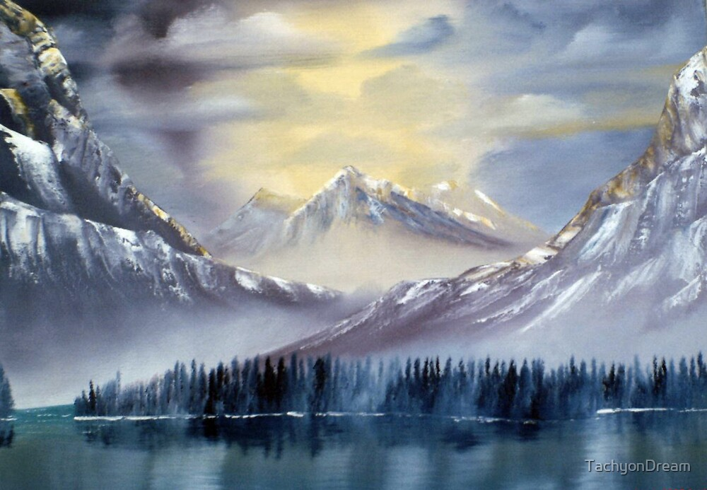 Winter Evening Summit by TachyonDream