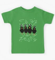 Bristly Birds Kids Tee