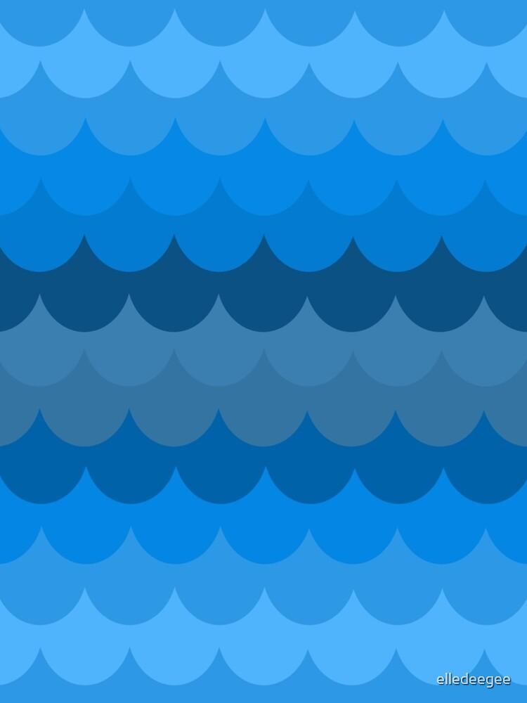 Watery Mermaiden by elledeegee