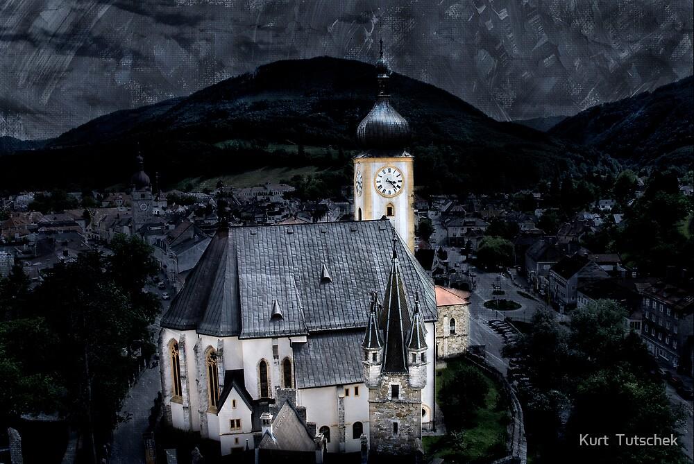 Little Austrian church by Kurt  Tutschek