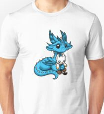 Dragon with Gryphon Plushie Unisex T-Shirt