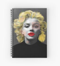 Paradox of Marylin Spiral Notebook