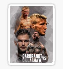 Cody Garbrandt vs TJ Dillashaw. Sticker
