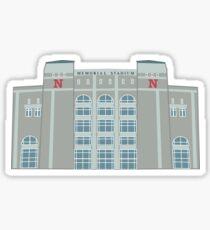 UNL Memorial Stadium Sticker