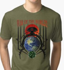 War of the Worlds Martian Spacecraft Tri-blend T-Shirt