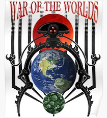 War of the Worlds Martian Spacecraft Poster