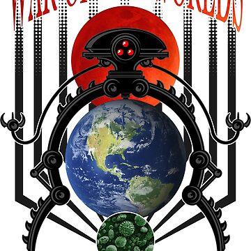 War of the Worlds Martian Spacecraft by DeadMonkeyShop