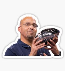 Coach James Franklin B1G Trophy Sticker