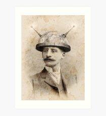 Dr Lampwicke's Amazing Mind Machine Art Print