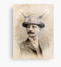 Dr Lampwicke's Amazing Mind Machine Metal Print