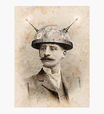 Dr Lampwicke's Amazing Mind Machine Photographic Print