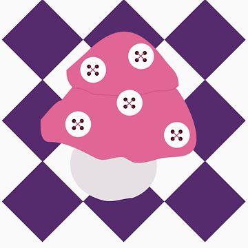 Button Mushroom by exandra