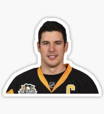 Sidney Crosby Pittsburgh Penguins Sticker
