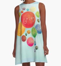 Going in Circles A-Line Dress