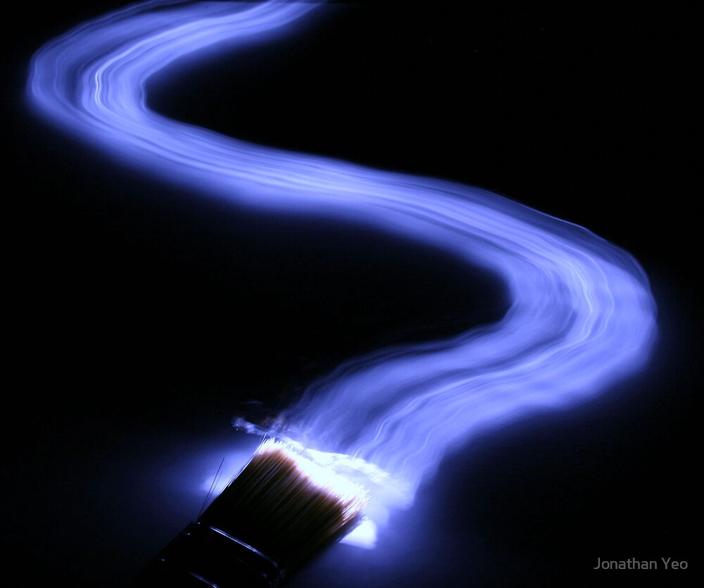 Painting with Light by Jonathan Yeo