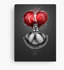 Rainbow Punk: Crimson Lolita Canvas Print