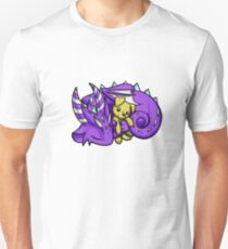Dragon with Puppy Plushie Unisex T-Shirt