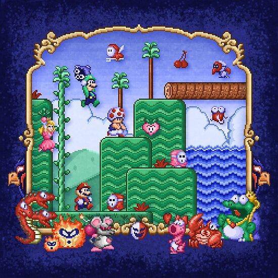 Mario Super Bros, Too by likelikes