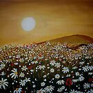Daisy Field by Cherie Roe Dirksen