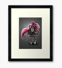 Rainbow Punk: Pinky Punk Framed Print