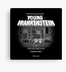 YOUNG FRANKENSTEIN 16-bit Canvas Print