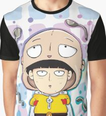 Mob Psycho and One Punch Man Graphic T-Shirt