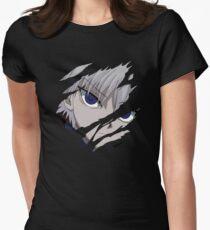 Killua Inspired Anime Shirt Womens Fitted T-Shirt