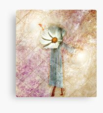Flower Head Canvas Print