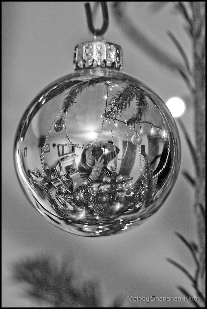 B&W Bauble by Melody Shanahan-Kluth