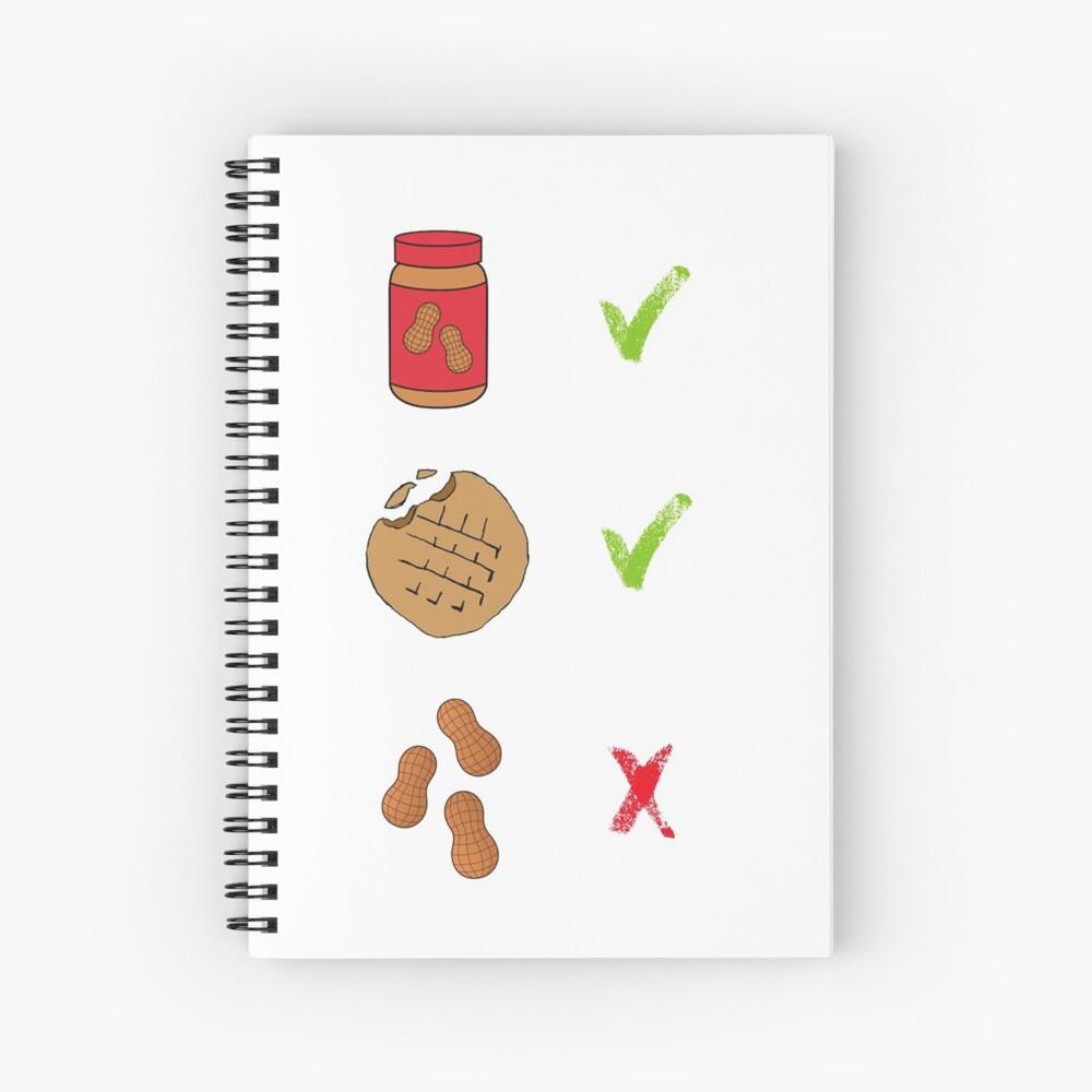 Erdnüsse - Pidge Spiralblock