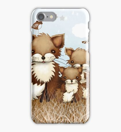 Little Foxes iPhone Case/Skin