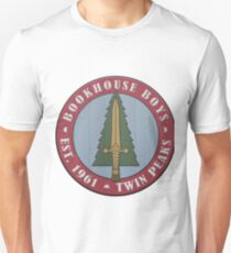 Twin Peaks Bookhouse Boys Embroidered Unisex T-Shirt