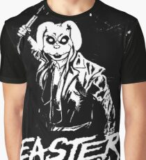 Easter Sunday Black and White Graphic T-Shirt