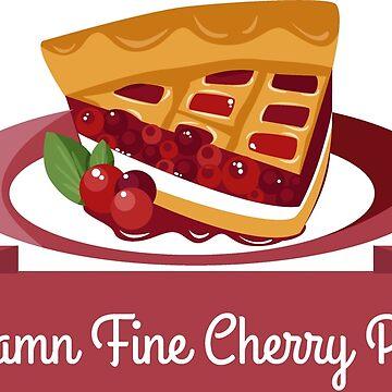 Twin Peaks Cherry Pie by Alisterny